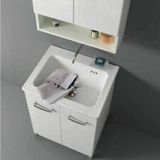 Lavatoio Lavarredo Xilon Nanco cm 60x50 colore Bianco lucido