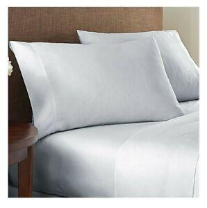 Nestwell Egyptian Cotton Sateen 625 Thread-Ct (QUEEN) Sheet Set (LUNAR ROCK)-NEW