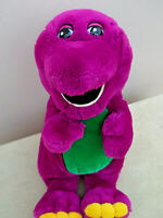 "Barney The Dinosaur 15"" BARNEY  Soft Plush Toy"