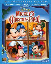 Walt Disney Mini Classics - Mickeys Christmas Carol (Blu-ray Disc, 2013, 2-Disc