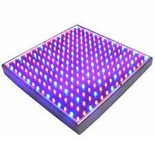 HQRP Panel LED azul + rojo de cultivo interior hidroponia de 225 LEDs 14W