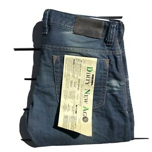 Men's DIESEL 'Safado' Jeans Size W32 L32 Authentic - RRP $495 Made in Italy 🇮🇹