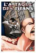 manga L'Attaque des Titans Tome 2 Seinen Hajime Isayama Livre Neuf Pika Anime VF