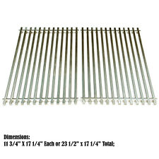 Heavy Duty Stainless Steel Grates Replacement for Weber Genesis Silver B & C BBQ