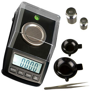 Karatwaage CT 250 OnBalance 50g Professional 0,001g + Batterien und Gewichte