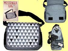 Sac Messenger Sac à bandoulière cartable sac bandoulière unisexe 36x11x31,5