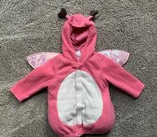 Old Navy Girls Size 12-24 Mon Love Bug Butterfly Costume Halloween Fleece