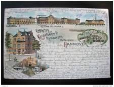 CP Carte postale Gruss Aus Kassebeer´s Restaurant Welfenplatz Hannover
