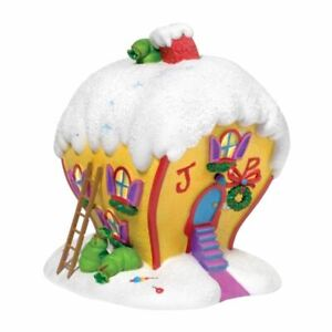 Dr. Seuss The Grinch Cindy Lou-Who's House Light Up Figurine