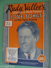 Rudy Vallee's World Famous Love Songs & Popular Standards 1934