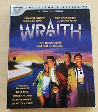 The Wraith (1986) Blu Ray New Sealed w/ Slipcover Vestron Collector's