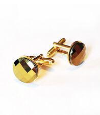 d Edition Gift-performance Swarovski Gold Rhinestones Cufflinks-Handmade-Limite