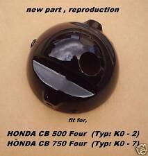 Honda CB 500 Four_+_CB 750 Four_Lampentopf_case_schwarz_neu_Scheinwerfergehäuse