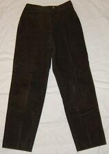 Fancy! FACONNABLE STRETCH corduroy OLIVE GREEN DRESS PANTS sz 4