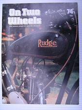 On Two Wheels -  Motorcycle Magazine Volume 5 - Issue No.74 - **FREE POSTAGE**