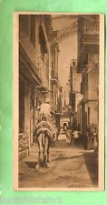#A. EGYPT MILITARY POSTCARD - 1919, ON ACTIVE SERVICE, CAIRO STREET
