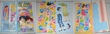 SAILOR MOON TOP MODEL Makoto & Ami NUOVO Bambola carta Paper doll Anime