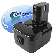 Battery for Hitachi EB1214S EB1212S 12 Volt 12V 3300mAh