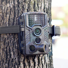 Hunting Camera 12MP 1080P HD Infrared Black LOW GLOW Game Trail Cam Night Vision