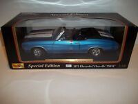 MAISTO SPECIAL EDITION 1971 CHEVY CHEVELLE SS454 DIECAST CAR (BLUE) 1:18