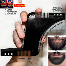 Beard Shaping Tool Symmetry Perfect Lines Comb and Template Hair Styling Shaper