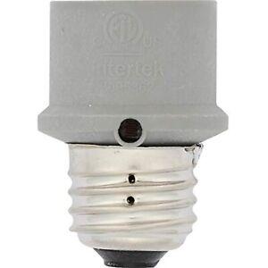 Westek SLC4CG Gray Automatic On/Off Dusk-to-Dawn Photocell Sensor Light Control