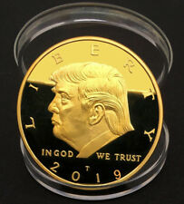 2019 President Donald Trump Gold Plated EAGLE Commemorative Coin Novelty Coins