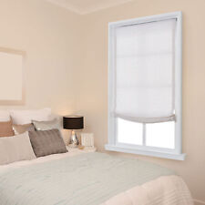Tranquil Cordless Roman Shades - 4 Colors - 5 Sizes