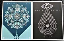 Shepard Fairey- Obey Earth Crisis set  2 volumes avec étui  giant book 2016