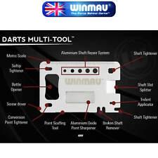 Winmau - Dart Multi Tool - 12 Accessories in 1 - The Ultimate Dart Service Tool