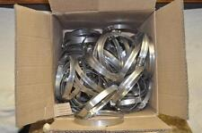 "Breeze 91-114MM Hose Clamps 3-9/16-4-1/2"" Lot of 100 PN: SAEJ1508F64 NEW"