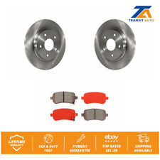 14 Fit Chrysler Town/&Country See Desc. OE Replacement Rotors w//Metallic Pads F