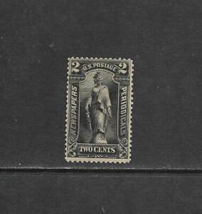 1895 US 2 cent Newspaper Periodical Stamp Issue Scott# PR115 mint OG CV $8.00