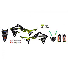 Adesivi grafiche Kawasaki Kxf 250 2013 2014 2015 2016 moto cross Racing Team