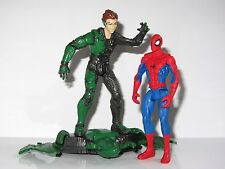"""Marvel 3.75""""  Toy Figure Bundle      THE GREEN GOBLIN with GLIDER vs SPIDER-MAN"""