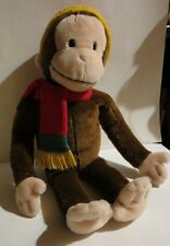 Macy's Curious George Monkey Plush Stuffed Animal 24""
