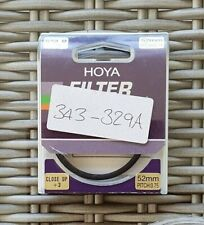 Hoya 52mm close up + 3 filter
