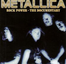 METALLICA : ROCK POWER - THE DOCUMENTARY / CD (HÖRBUCH)