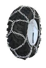 Grizzlar GTN-587 Garden Tractor Snow Tire Chains Traction Diamond Net 4.00-10