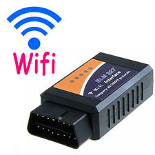1Pc ELM327 WiFi OBD2 Car Diagnostic Scanner Tool For PC iPhone iPad Android Top
