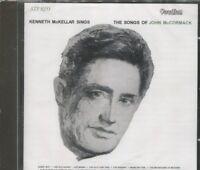 KENNETH MCKELLAR SINGS THE SONGS OF JOHN MCCORMACK on CD