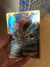 Pokemon Card: Gyarados EX Full Art Secret Rare 123/122