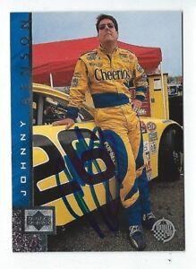 Johnny Benson Signed 1998 Upper Deck Card #26    NASCAR