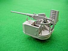 Single 40mm Bofors Gun in 1/48th Scale. Model Boat Fittings.