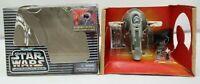 Star Wars Micro Machines Action Fleet Slave 1 w/ Boba Fett Han Solo Carbonite TY