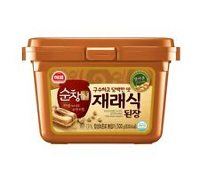 SoyBean Paste(Miso) Doenjang, Essential condiment for Korean Food, 17.6oz 500g