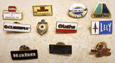 Lot of 11 Advertising Lapel Pins/Tie Tack/Pinbacks/Pendant-Vtg-Work Construction