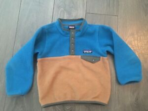 Patagonia 4T Toddler Synchilla Pullover Fleece