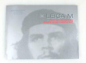 LEICA M LITERATURE, HOW REVOLUTIONARY SHOULD YOUR CAMERA BE?