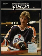 1980 ScotiaBank Magazine (Mar),FIRST Wayne Gretzky Cover, Dave Dryden C/F, VG